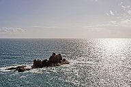 United Kingdom, England, Cornwall, Land's End, offshore island - FRF000063