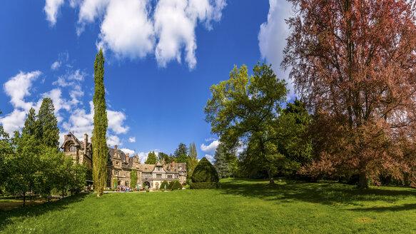 Germany, Hesse, Erbersdorfergrund, Rauischholzhausen castle and park - PU000167