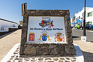 Spain, Canary Islands, Lanzarote, Orzola, ferry harbor to La Graciosa - AM003092