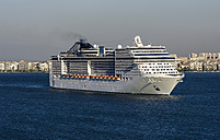 Turkey, Izmir, Aegean Region, Cruise liner - THA000845