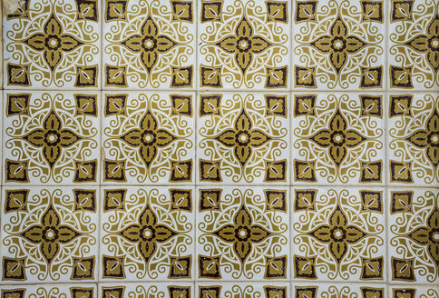 Portugal, Lagos, Azulejos, close-up - KBF000233
