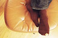 Hole in sock - UWF000227