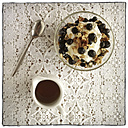 Muesli with bluebberies and curd - EVGF000957