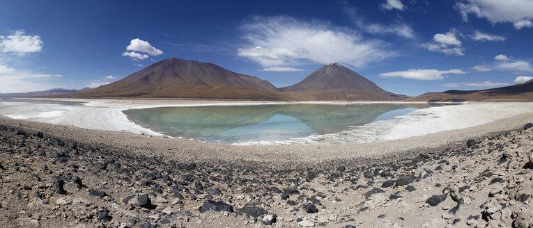Bolivia, Laguna Verde, Licancabur volcano - FPF000007