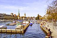 Switzerland, Zurich, old town - PUF000229