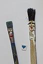 Brush pair in love - CMF000190