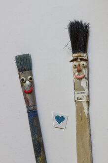 Brush pair in love - CMF000190