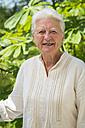 Portrait of smiling senior woman - ABAF001572