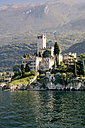 Italy, Veneto, Malcesine with Castello Scaliger - LV002175