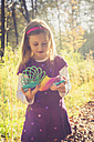 Little girl with spiral in prismatic colours - SARF001000