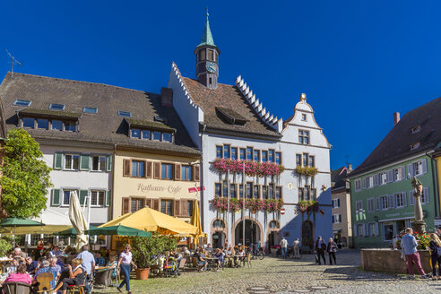 Germany, Baden-Wuerttemberg, Staufen im Breisgau, townscape - MABF000265