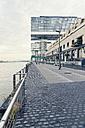 Germany, Cologne, crane houses at River Rhine - MEMF000461