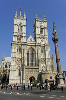 UK, London, Westminster Abbey - MIZF000647