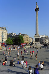 UK, London, Trafalgar Square with Nelson's Column - MIZF000673