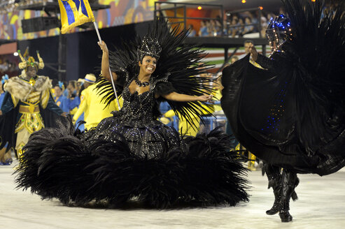 Brazil, Rio de Janeiro, Sambodromo, Carnaval - FLK000560