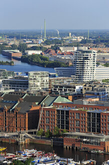 Germany, Hamburg, harbor, Speicherstadt and Hafencity - MIZF000752