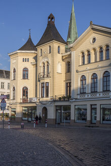 Germany, Mecklenburg-Western Pomerania, Schwerin, former residential house of Georg Adolf Demmler - PVCF000166