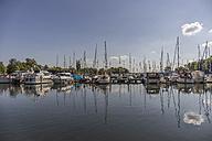 Germany, Mecklenburg-Western Pomerania, Schwerin, City harbour - PVCF000170
