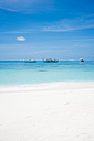 Maledives, Ari Atoll, view to Dhoni boats - FLF000572