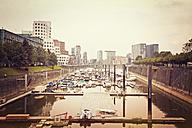 Germany, Dusseldorf, View of Media Harbour - MEMF000532