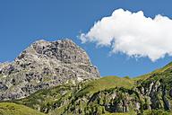 Austria, Vorarlberg, Kleinwalsertal, Widderstein mountain - SHF001637