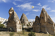 Turkey, Goereme National Park, tuff rock formations in Zemi valley - SIEF006273
