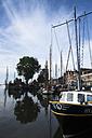 Netherlands, Ijsselmeer, Hoorn, ships in harbor - FC000520