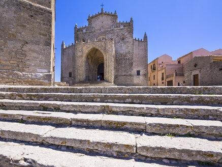 Italy, Sicily, Province of Trapani, Erice, Chiesa Madre, Church Maria Santissima Assunta - AMF003271