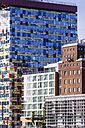 Germany, North Rhine-Westphalia, Duesseldorf, Media Harbour, Office buildings - THA000965