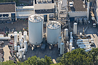 Germany, Baden-Wuerttemberg, Friedrichshafen, aerial view of oxygen plant - SH001752