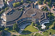 Germany, Baden-Wuerttemberg, Friedrichshafen, aerial view of Graf-Zeppelin-Haus - SH001712