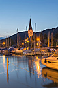 Germany, Baden-Wuerttemberg, Lake Constance, Sipplingen, evening at marina - SH001743