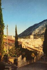 Spain, Majorca, Pollenca, calvary - DWIF000299