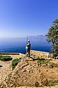 Turkey, Antalya, Karaalioglu Park, Stone statue - THAF000982