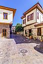 Turkey, Antalya, Kaleici, alley and houses - THAF000992