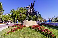 Turkey, Antalya, Monument of Kemal Ataturk - THA000997