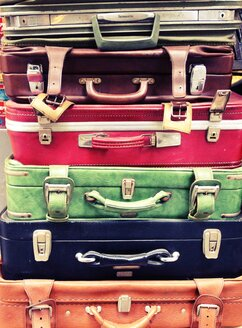 Mulitcolored suitcases, Istanbul, Turkey - RIMF000318