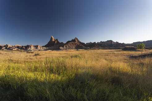 USA, South Dakota, Badlands National Park, Landscape - NNF000094