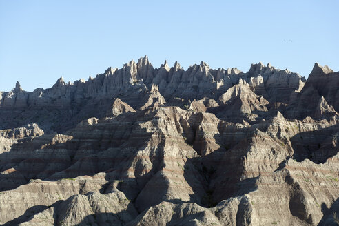 USA, South Dakota, Badlands National Park, Landscape with rocks - NNF000097