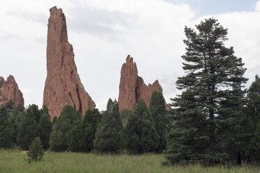 USA, Colorado, Garden of the Gods, National Natural Landmark - NNF000144