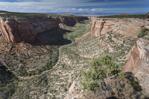 USA, Colorado, Colorado National Monument - NNF000115