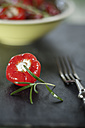 Pickeled cherry peppers, filled with cream cheese, studio - SBDF001469