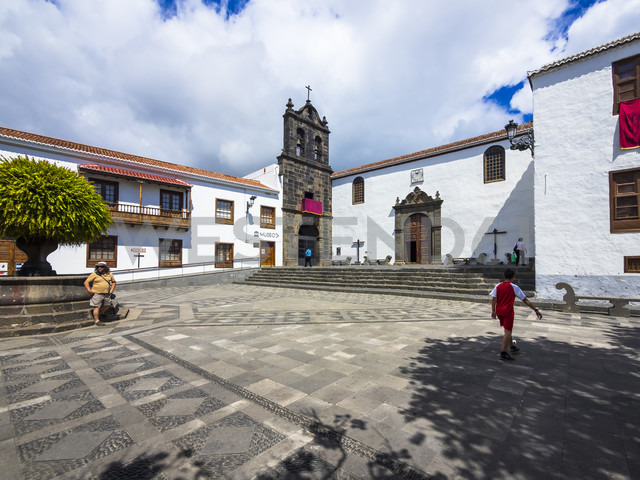 Spain, Canary Islands, La Palma, Santa Cruz de la Palma, abbey Convento de San Francisco - AM003386