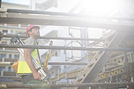 Surveyor on construction site - ZEF001608