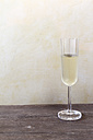 Glass of sparkling wine - EVGF001410