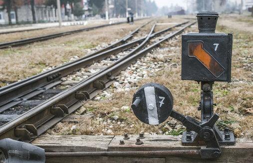 Bulgaria, Velingrad, Rail junction - DEGF000023