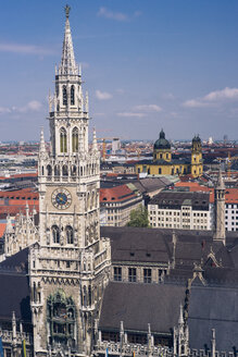 Germany, Munich, city hall - FLF000609