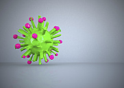 3d rendering of a virus - ALF000263