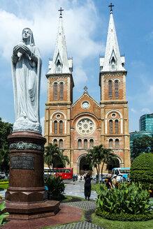 Vietnam, Ho Chi Minh City, Notre Dame church - WEF000305