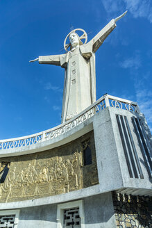 Vietnam, Vung Tau, statue of Christ - WE000315